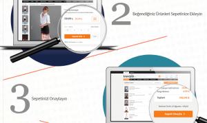 مواقع تسوق تركية trendyol خطوة شراء الثانية والثالثة